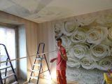 Натяжной потолок с арт-печатью